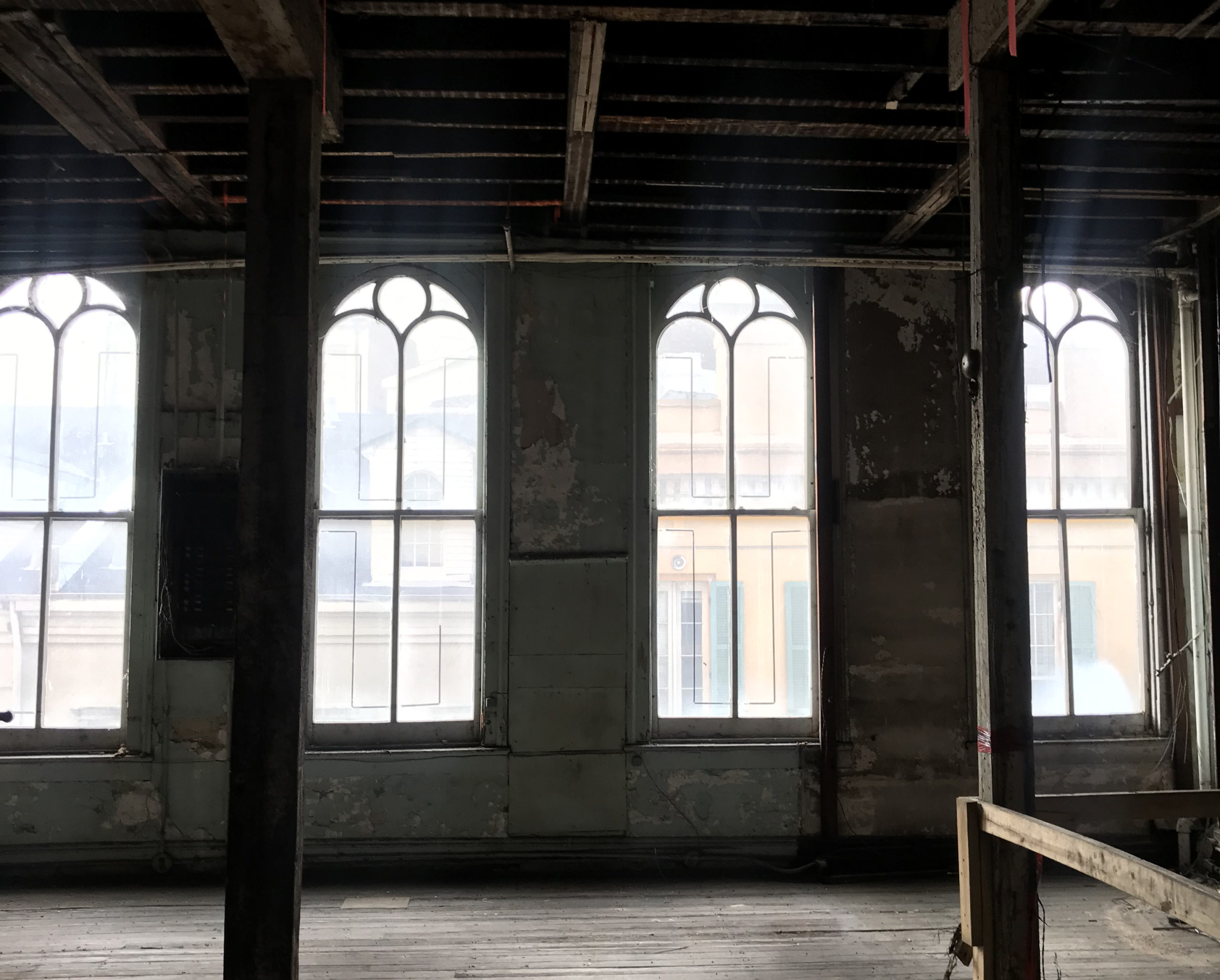 Palmisano projects 623 Canal windows