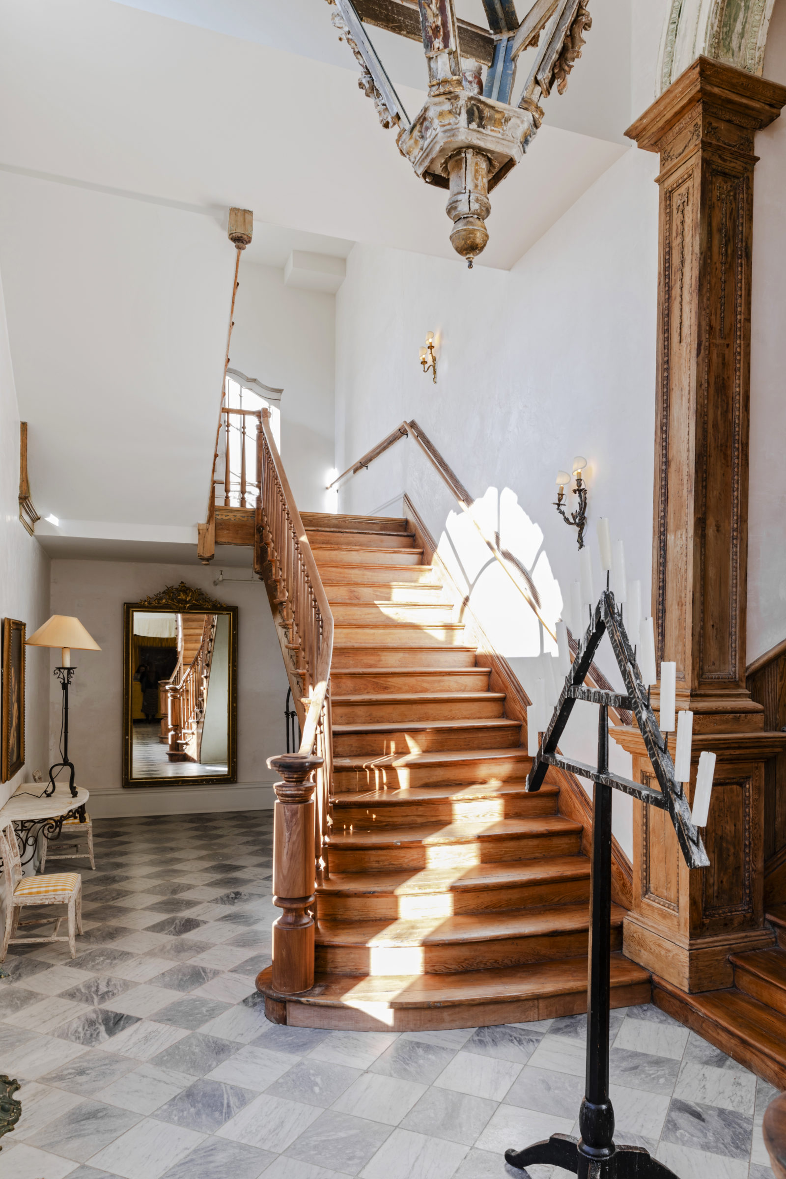 Palmisano project Hotel Peter & Paul staircase